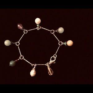 Jewelry - Sterling silver multi-stone bracelet